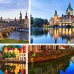 اين تقع المانيا وما هي مدنها و لاياتها